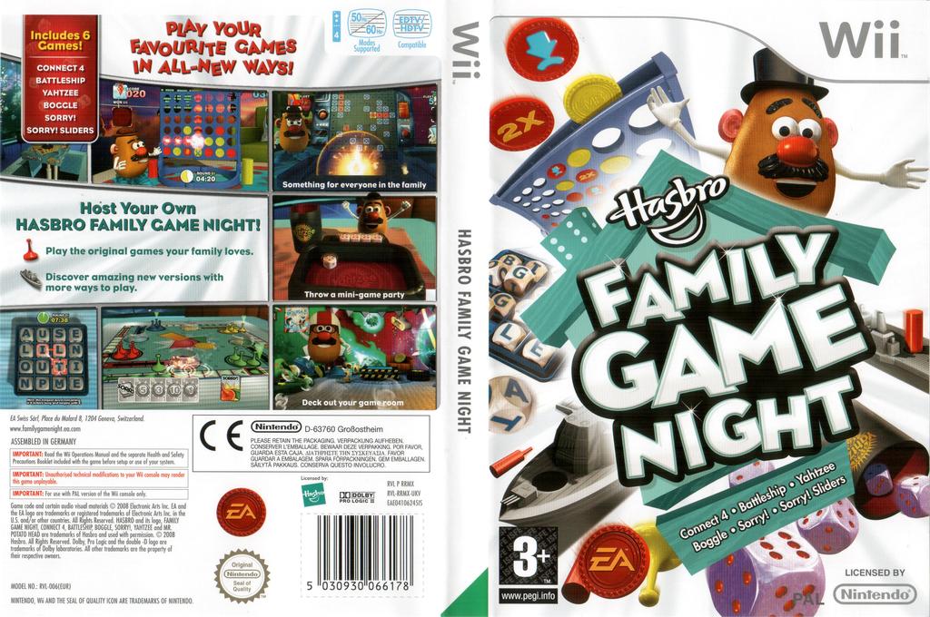 Hasbro: Family Game Night Wii coverfullHQ (RRMP69)