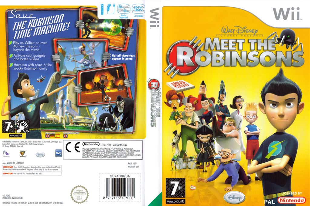 Meet The Robinsons Wii coverfullHQ (RRSP4Q)