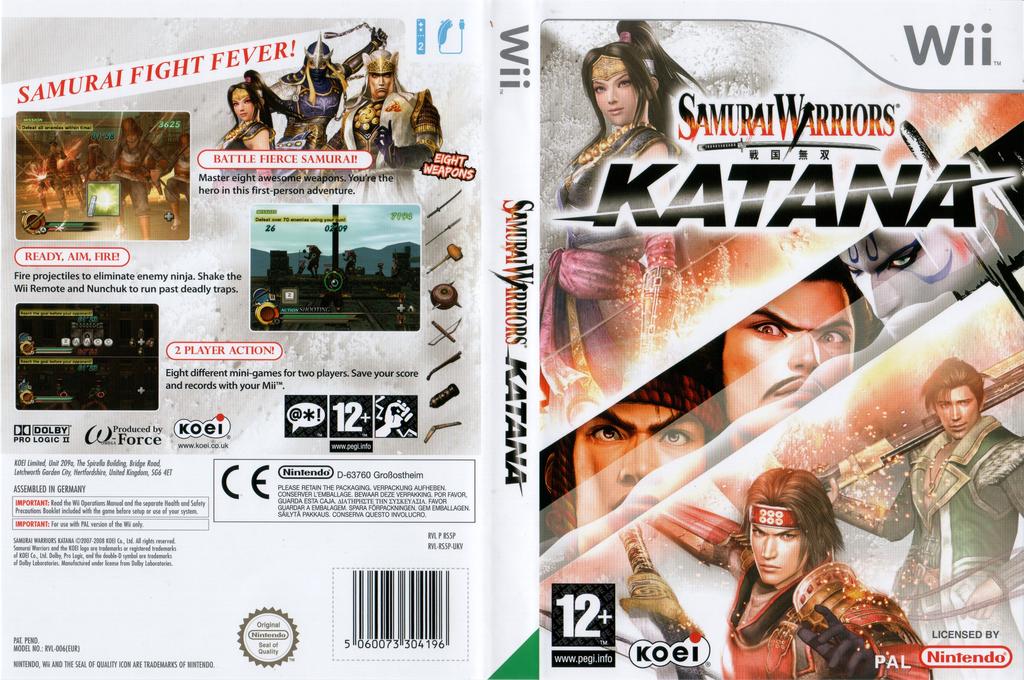 Samurai Warriors: Katana Wii coverfullHQ (RS5PC8)