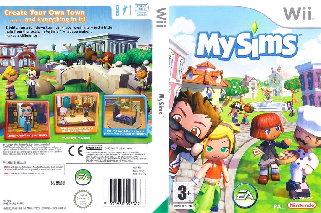 MySims Wii coverfullHQ (RSIP69)