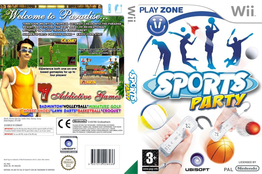 Sports Party Wii coverfullHQ (RSUP41)