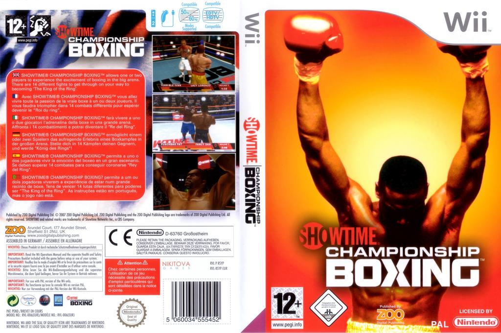 Showtime Championship Boxing Wii coverfullHQ (RSYP7J)