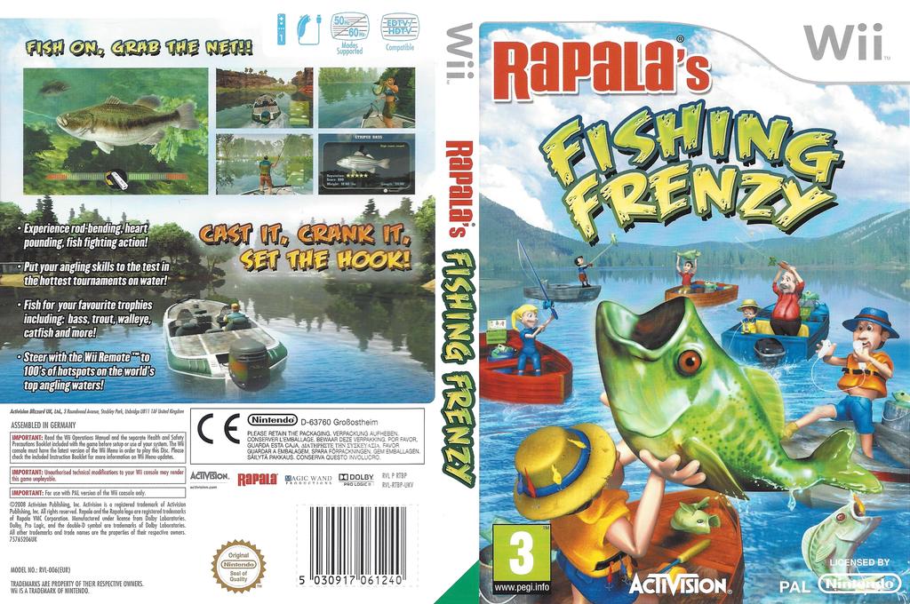 Rapala Fishing Frenzy Wii coverfullHQ (RTBP52)