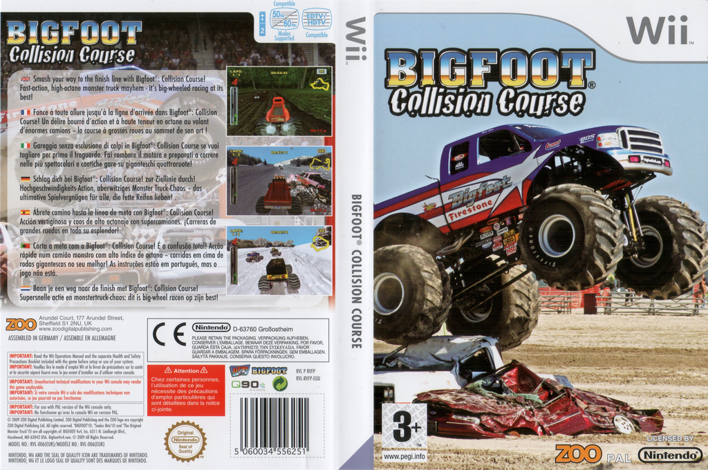 Bigfoot: Collision Course Wii coverfullHQ (RVFP7J)