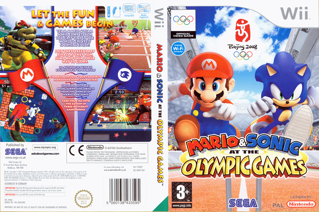 Mario & Sonic at the Olympic Games Wii coverfullHQ (RWSP8P)