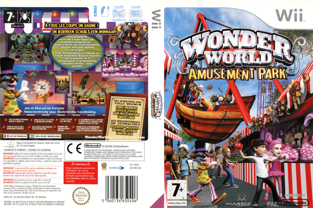 Wonder World Amusement Park Wii coverfullHQ (RWZX5G)