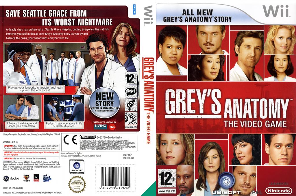 Greys anatomy wii
