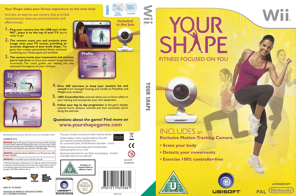 Your Shape Wii coverfullHQ (RYRP41)