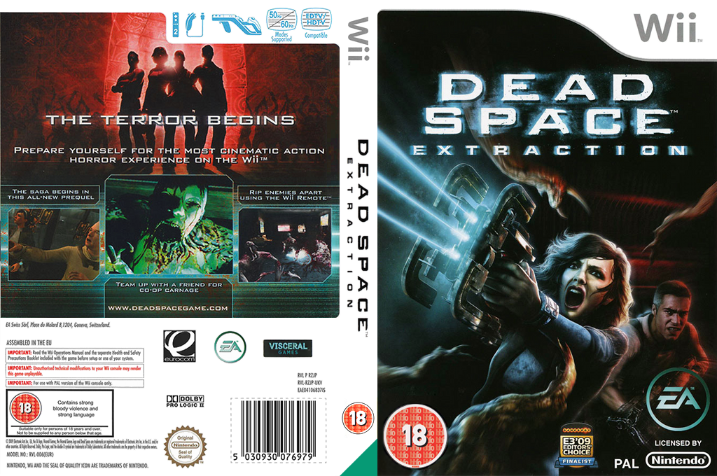 Dead Space: Extraction Wii coverfullHQ (RZJP69)