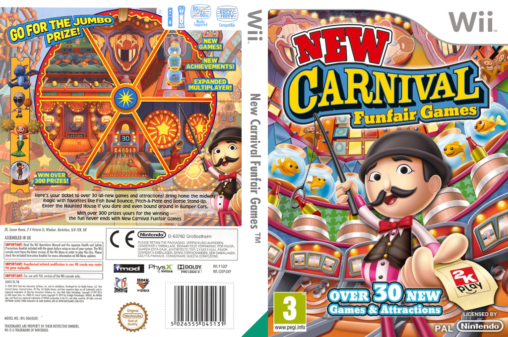 New Carnival Funfair Games Wii coverfullHQ (S2CP54)