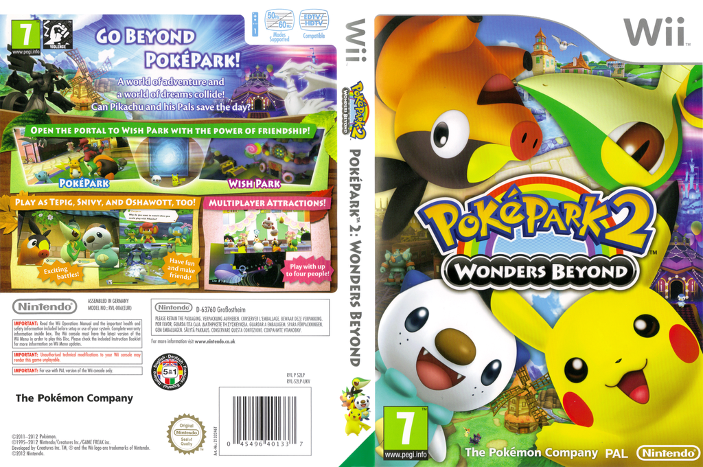 PokéPark 2: Wonders Beyond Wii coverfullHQ (S2LP01)