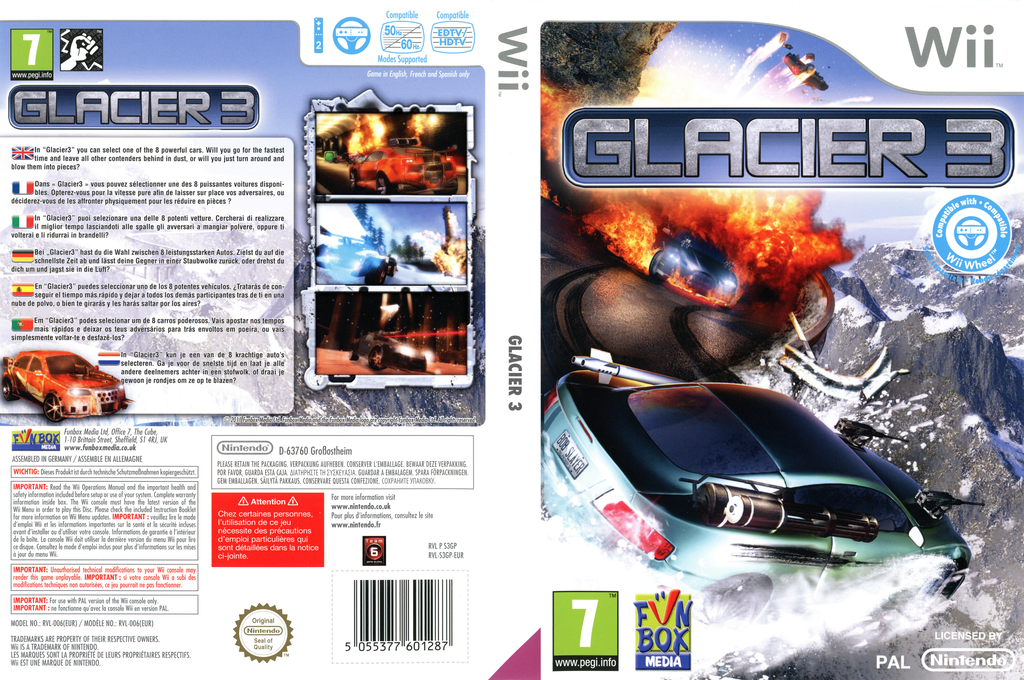Glacier 3 Wii coverfullHQ (S3GPXT)