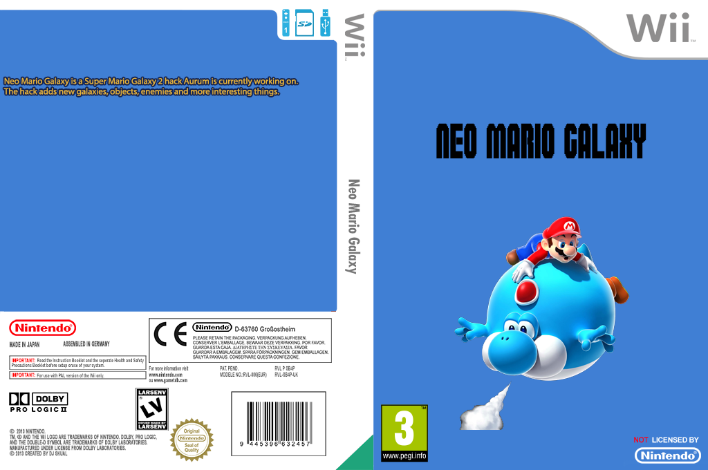 iso super mario galaxy pal