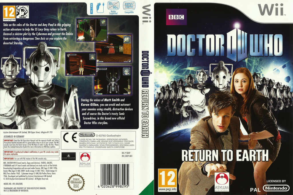 Doctor Who: Return To Earth Wii coverfullHQ (SDOPLR)