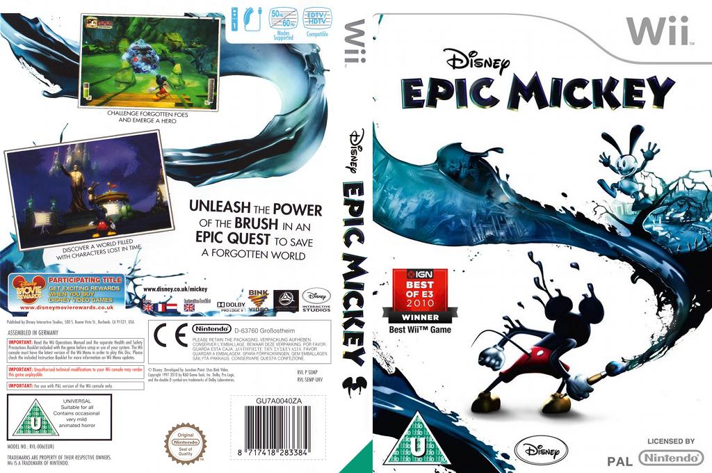 Disney Epic Mickey Wii coverfullHQ (SEMX4Q)