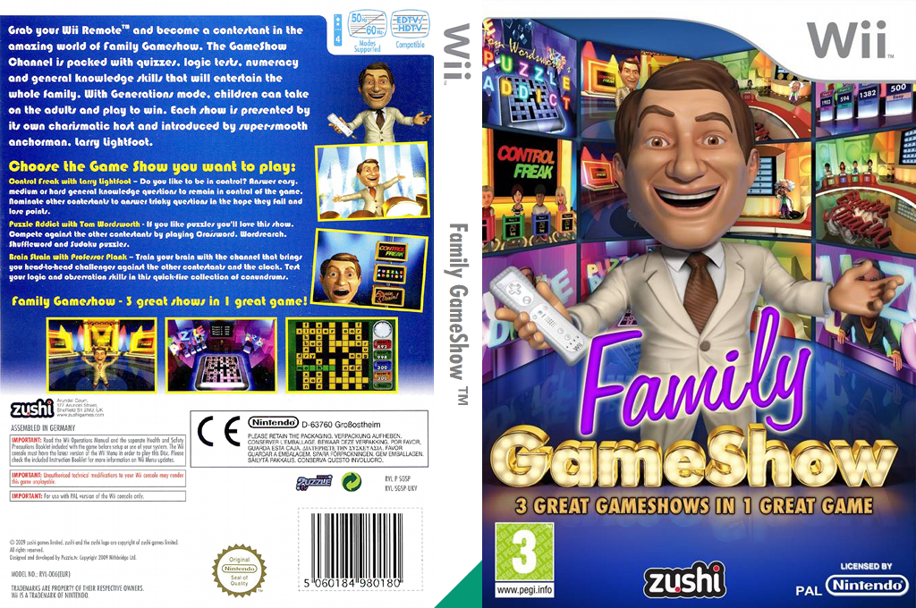 Family GameShow Wii coverfullHQ (SGSP7J)