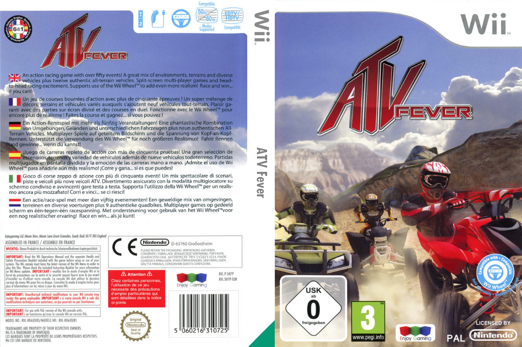 ATV Fever Wii coverfullHQ (SH7PNJ)