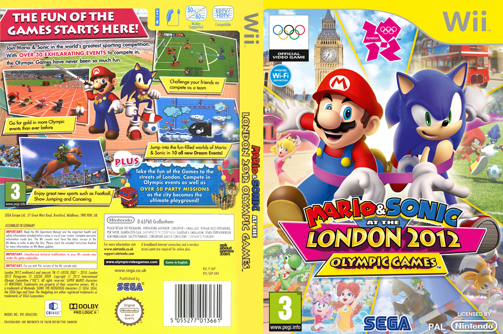 Mario & Sonic at the London 2012 Olympic Games Wii coverfullHQ (SIIP8P)