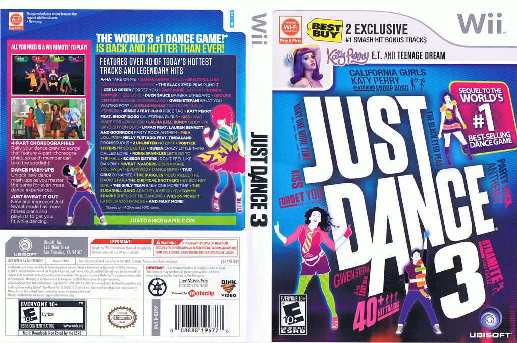 Just Dance 3: Best Buy Exclusive Edition Wii coverfullHQ (SJDY41)