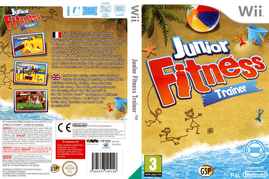 Junior Fitness Trainer Wii coverfullHQ (SJFXGR)
