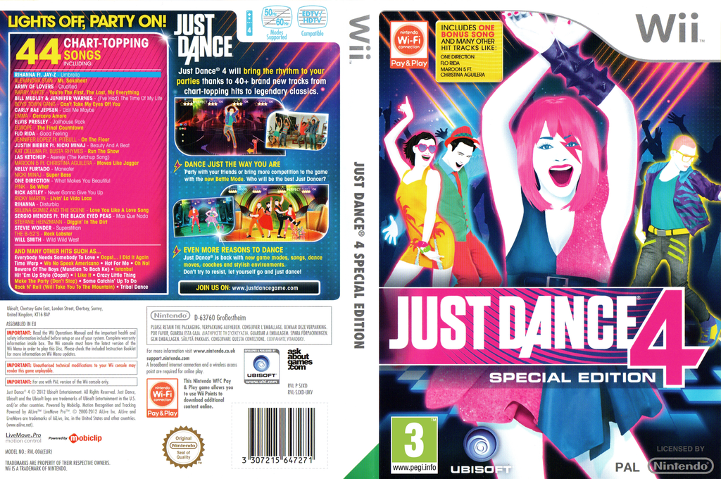 Just Dance 4 Special Edition Wii coverfullHQ (SJXD41)
