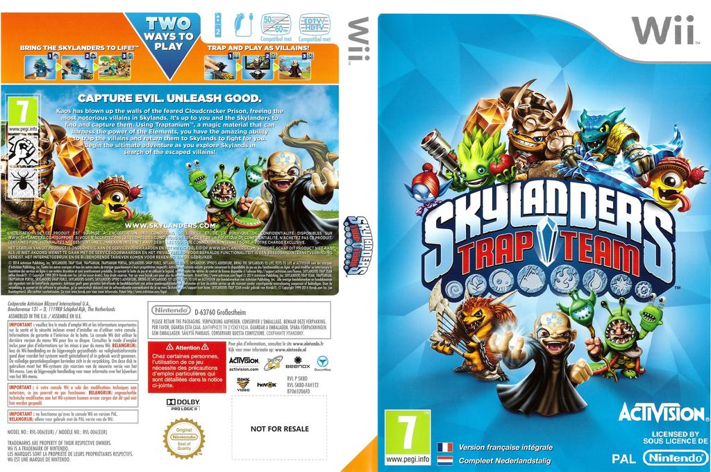 Skylanders: Trap Team Wii coverfullHQ (SK8D52)