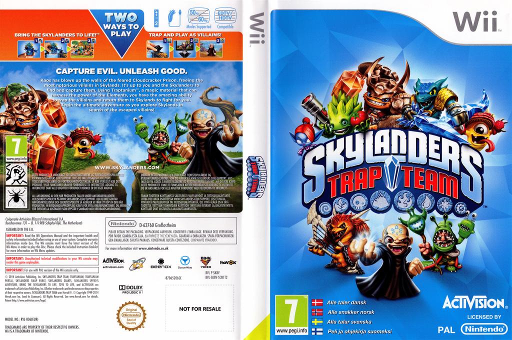 Skylanders: Trap Team Wii coverfullHQ (SK8V52)