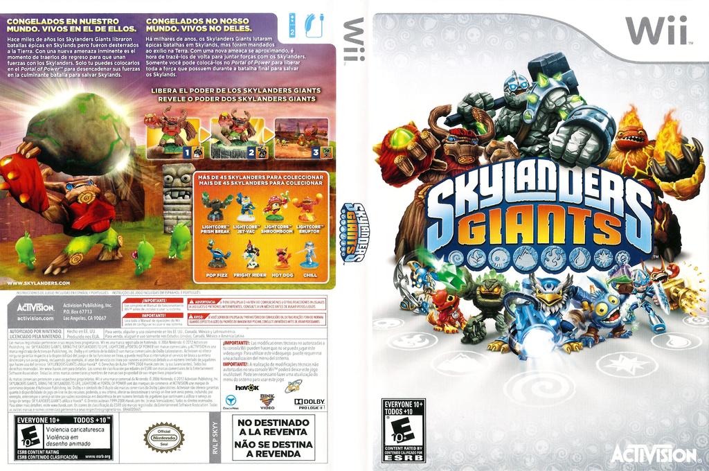 Skylanders: Giants Wii coverfullHQ (SKYY52)
