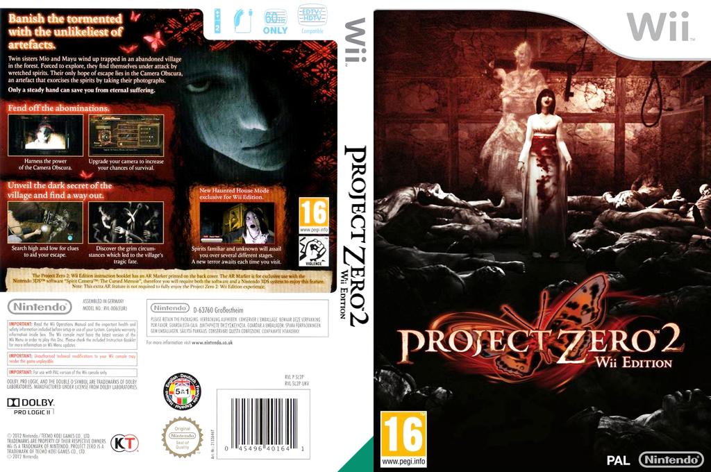 Project Zero 2: Wii Edition Undub Wii coverfullHQ (SL2PUD)