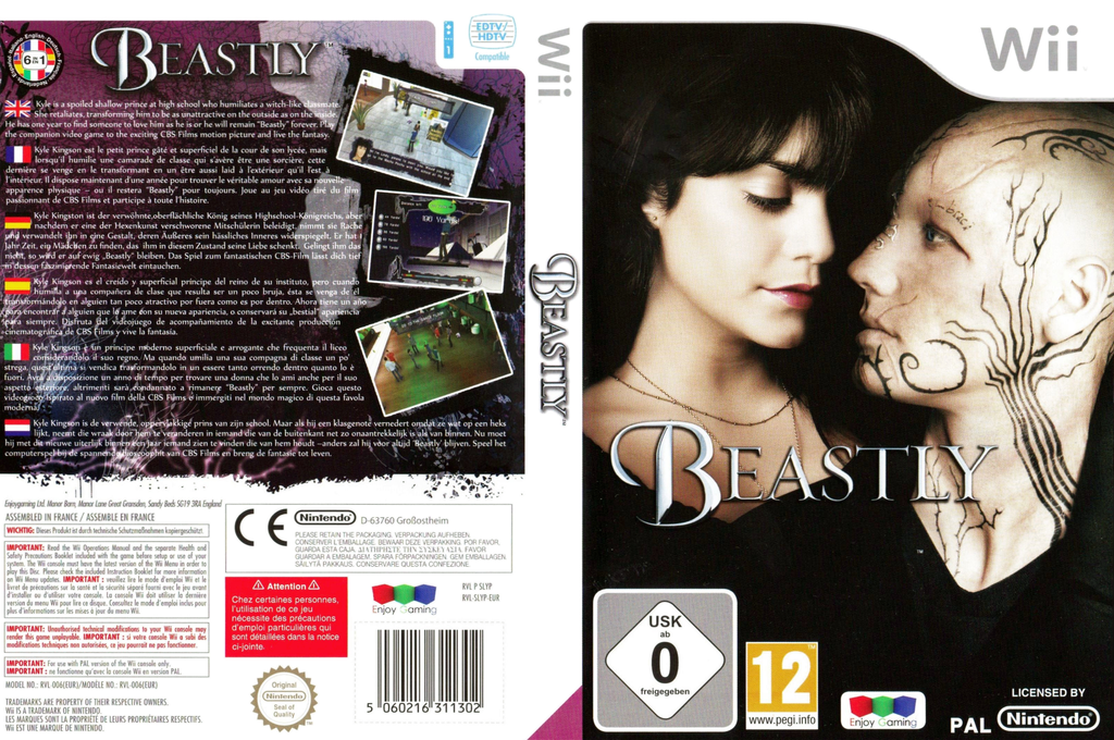 Beastly Wii coverfullHQ (SLYPNJ)