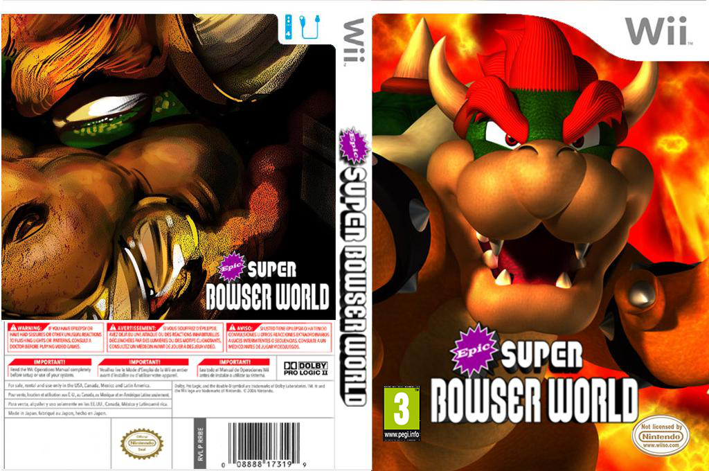 Epic Super Bowser World Wii coverfullHQ (SMNP08)