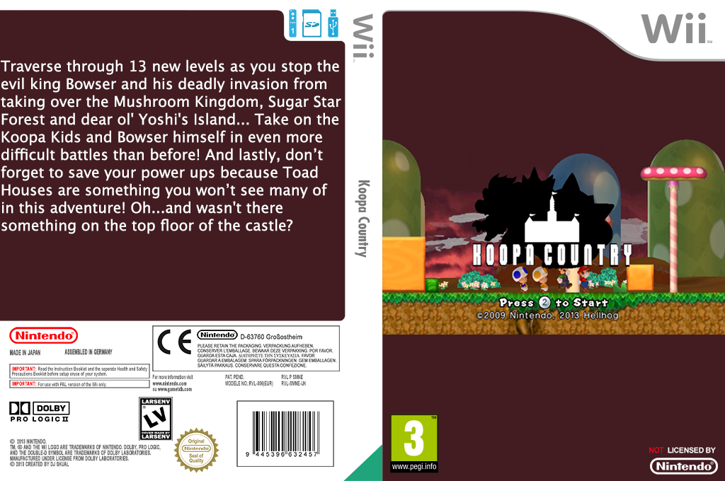 Koopa Country Wii coverfullHQ (SMNP10)