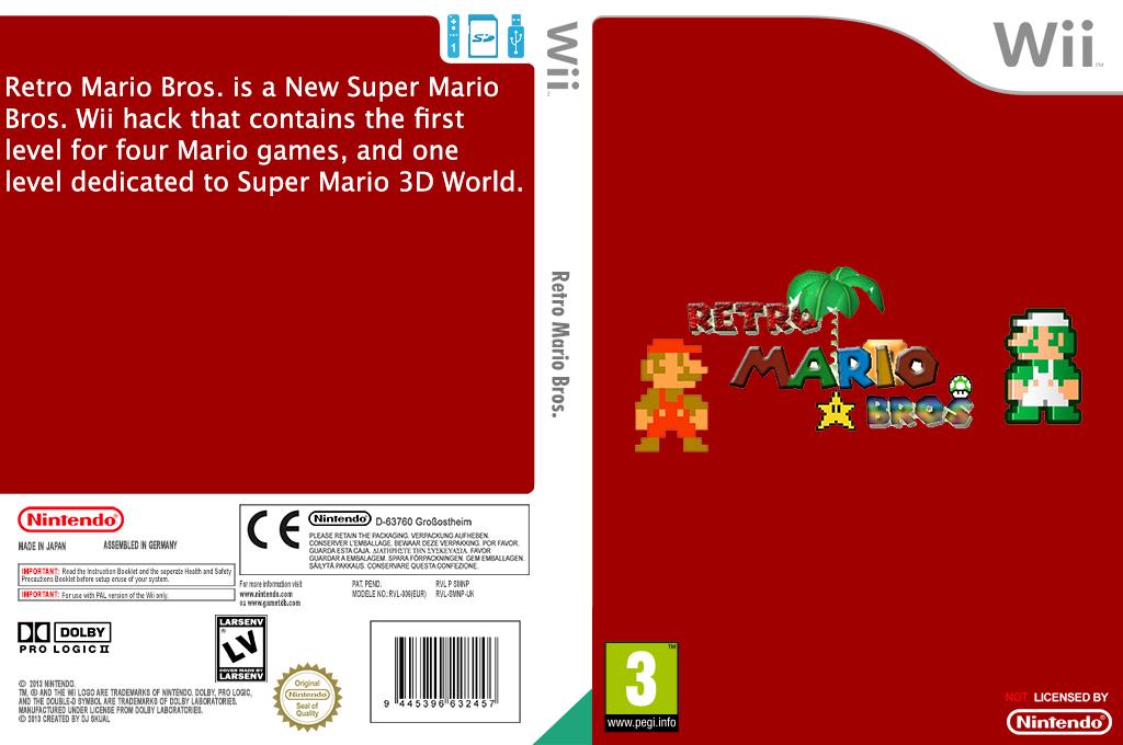 Retro Mario Bros. Wii coverfullHQ (SMNPRE)