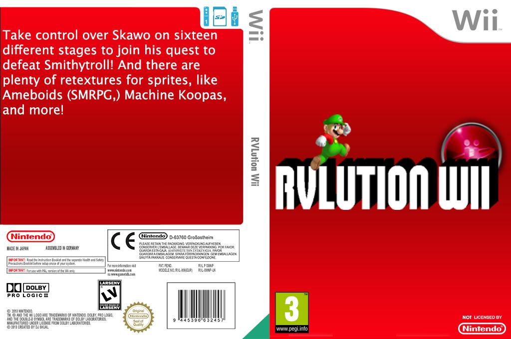 RVLution Wii Wii coverfullHQ (SMNPRV)