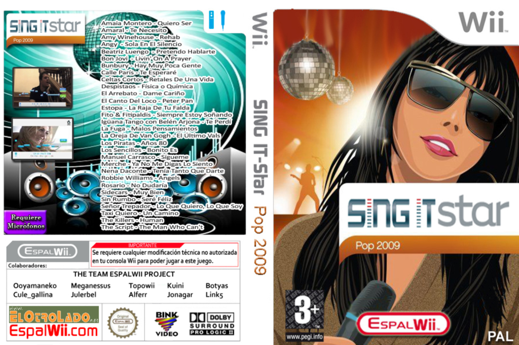 SingIt Star POP 2009 Wii coverfullHQ (SP9P4Q)