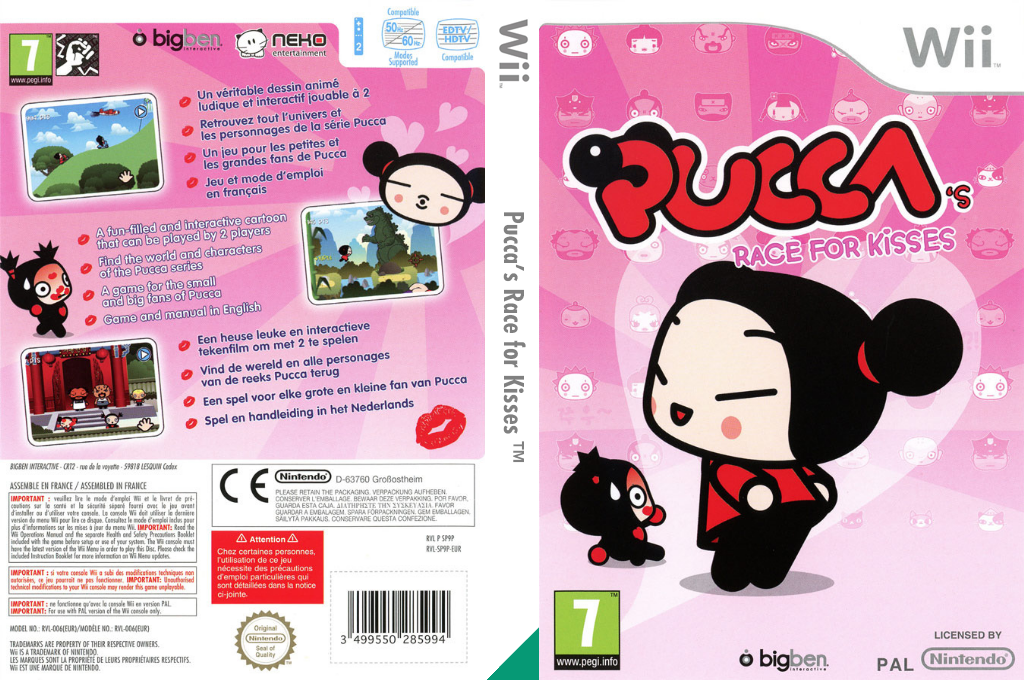 Pucca's Race for Kisses Wii coverfullHQ (SP9PJW)