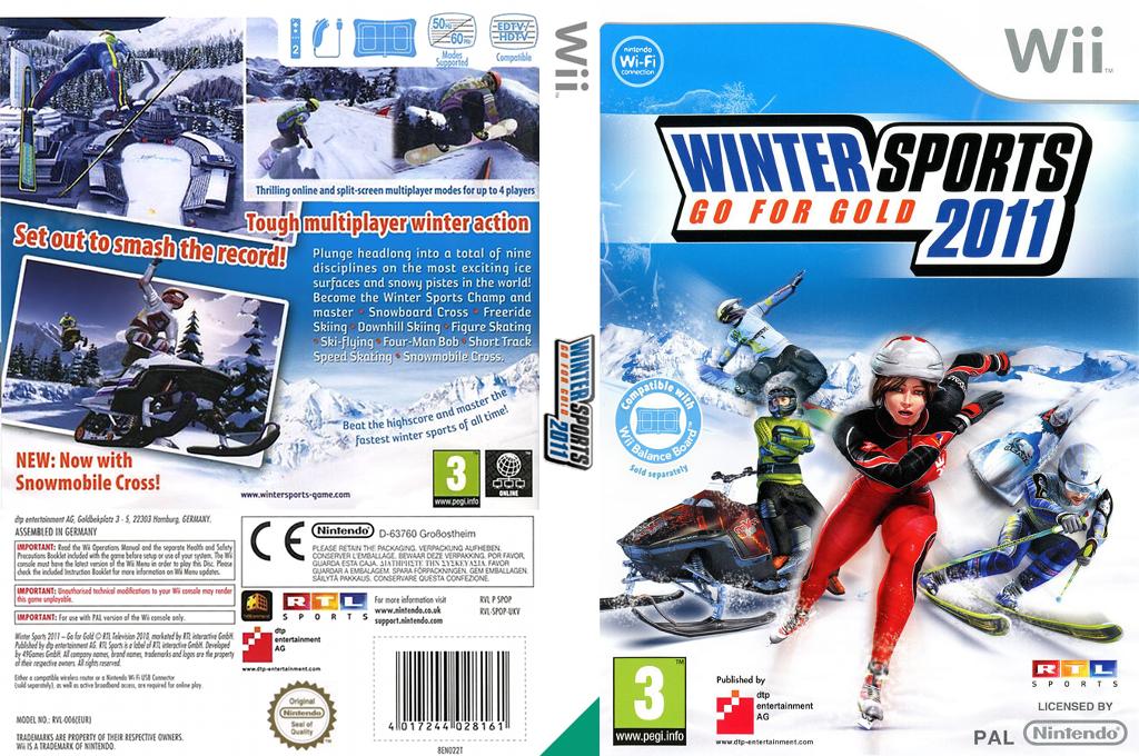 Winter Sports 2011: Go for Gold Wii coverfullHQ (SPOPFR)