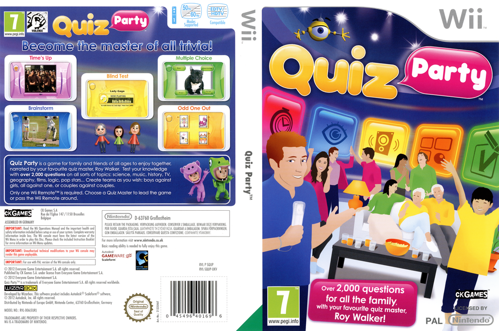 Quiz Party Wii coverfullHQ (SQUPX3)