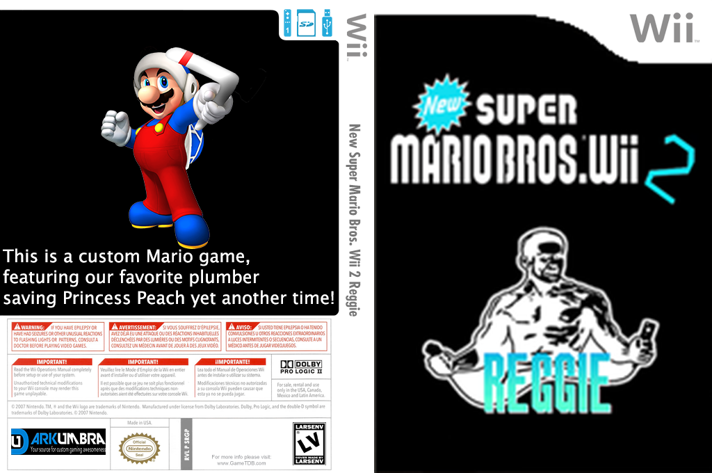New Super Mario Bros Wii 2 Reggie Wii coverfullHQ (SRGP01)