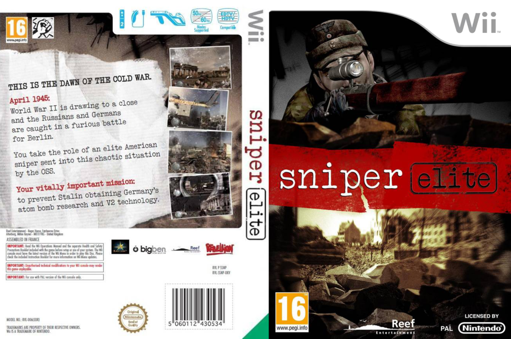 Sniper Elite Wii coverfullHQ (SSNPHY)