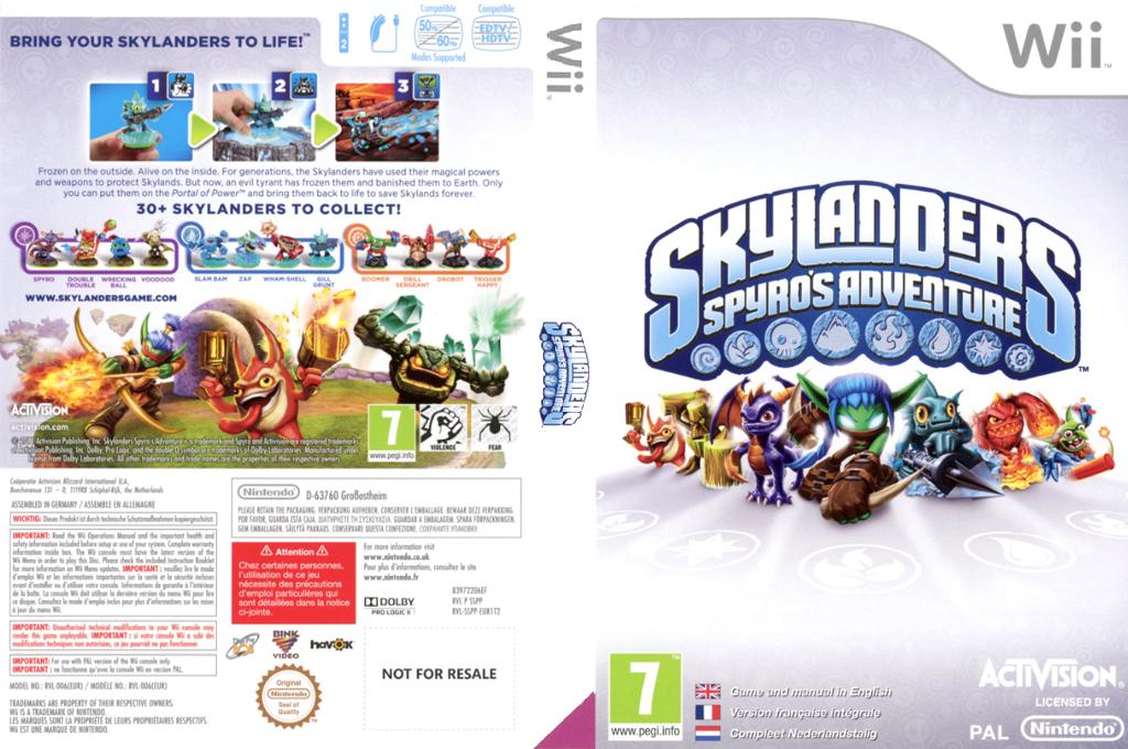 Skylanders:Spyro's Adventure Wii coverfullHQ (SSPP52)