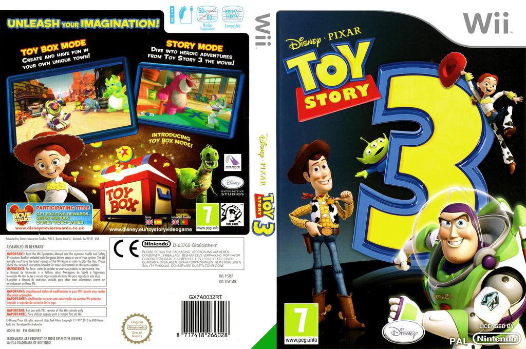 Toy Story 3 Wii coverfullHQ (STSP4Q)