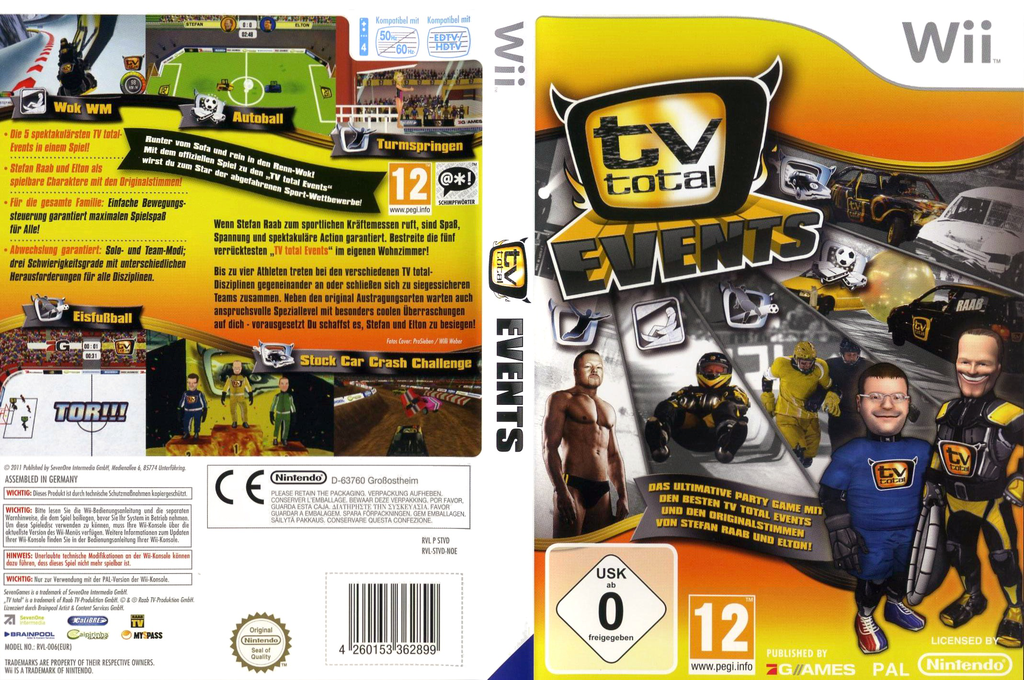 TV Total Events Wii coverfullHQ (STVDSV)