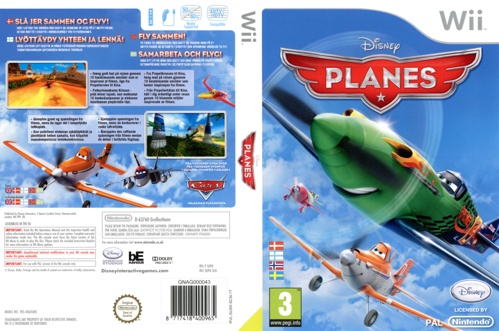Disney Planes Wii coverfullHQ (SU9X4Q)