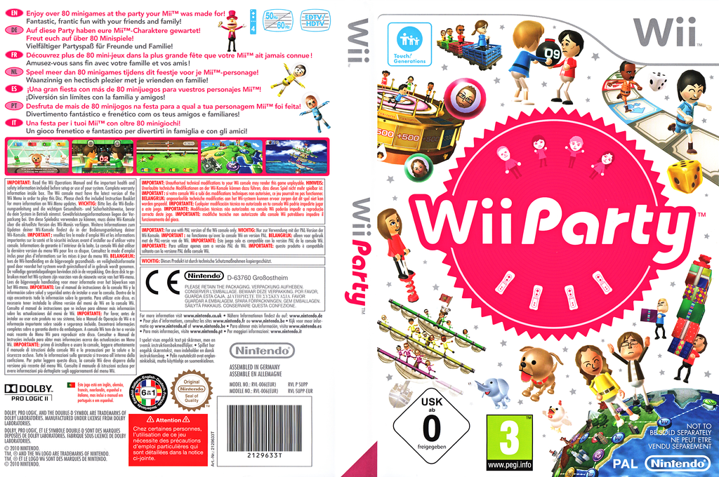 jaquettes wii wbfs