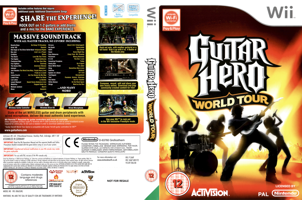 Guitar Hero: World Tour Wii coverfullHQ (SXAP52)