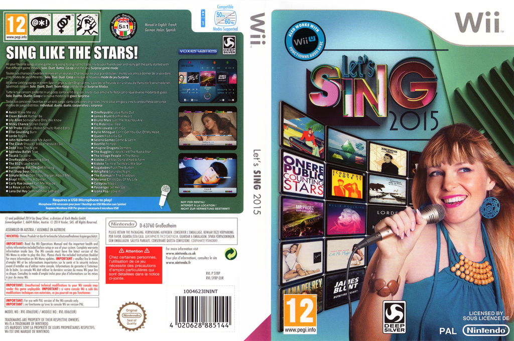 Let's Sing 2015 Wii coverfullHQ (SY8PKM)