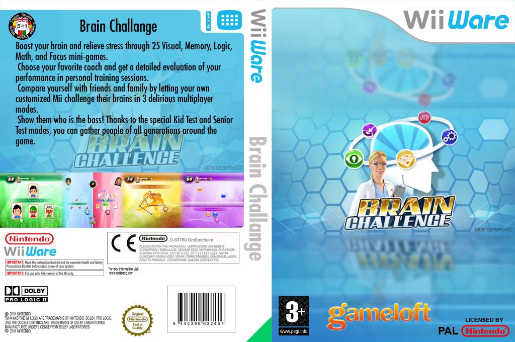 Brain Challenge Wii coverfullHQ (W2CP)