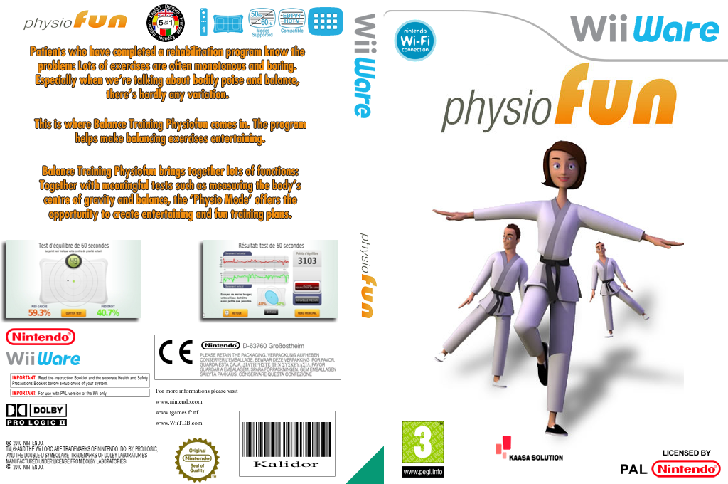 Physiofun - Balance Training Wii coverfullHQ (W2FP)