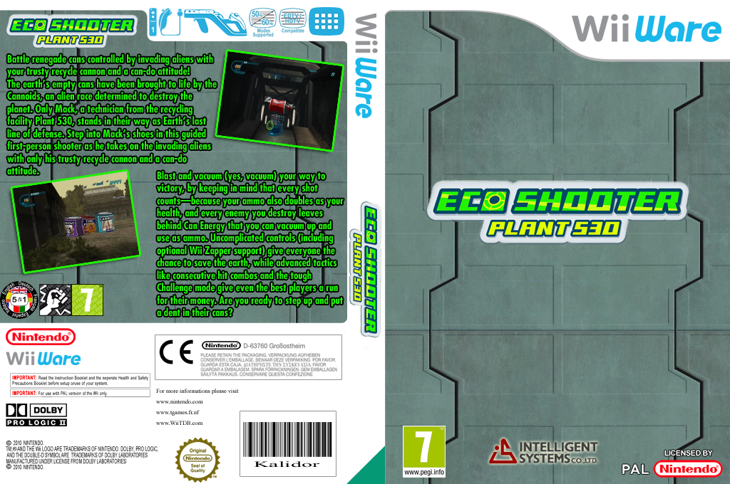 Eco-Shooter: Plant 530 Wii coverfullHQ (W6BP)